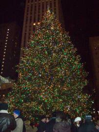 Rockefeller Center Christmas Tree December 2009